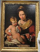 Madonna della pappa, strozzi