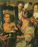 Old Coquette , c.1625, strozzi