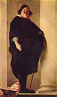 Portrait of a fat gentleman, strozzi