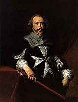 Portrait of a Maltese Knight, strozzi