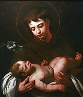 Saint Antony of Padua holding Baby Jesus, c.1625, strozzi