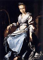St. Cecilia, 1625, strozzi