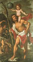 St. Christopher, St. Sebastian, St. Roch, strozzi