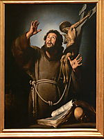 St.Francis in ecstasy, 1637, strozzi