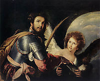 St. Maurice and the Angel, 1635, strozzi
