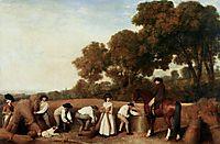 Harvest, 1785, stubbs