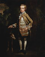 Portrait of John Nelthorpe as a child, c.1775, stubbs