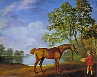 Pumpkin with a Stable Lad, 1774, stubbs