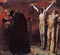 Crucifixion, 1892, stuck