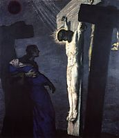 Crucifixion, 1913, stuck