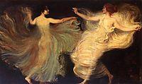 Dancers, 1896, stuck
