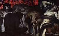 Inferno, 1908, stuck