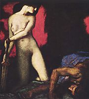 Judith and Holofernes, 1927, stuck