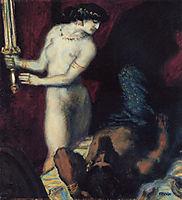 Judith and Holofernes, 1927, stuck