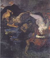 Orestes and the Erinyes, 1905, stuck