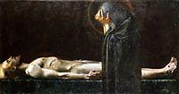 Pieta, 1891, stuck