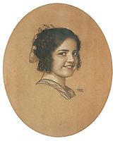 Portrait of the daughter Mary Stuck, c.1912, stuck