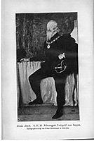 S. K. H. Prince Regent Luitpold of Bavaria, c.1897, stuck