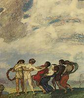 Spring Dance, 1909, stuck
