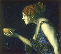 Tilla Durieux as Circe, stuck
