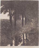 Trout Pond, 1890, stuck