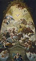 Asunción de la Virgen, 1760, subias