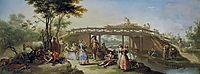 El puente del canal de Madrid, 1784, subias