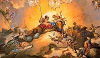 La feliz unión de España y Parma impulsa las ciencias y las artes, 1788, subias