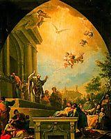 La predicación de San Eugenio, 1784, subias