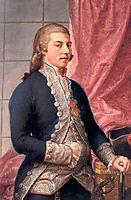 Portrait of Manuel Godoy, 1790, subias