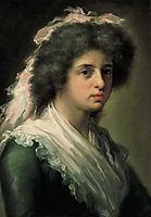 Retrato de Feliciana Bayeu, hija del pintor, 1792, subias