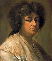 Retrato de Sebastiana Merclein, su mujer, 1786, subias