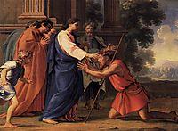 Christ Healing the Blind Man, sueur