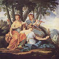 Clio, Euterpe and Thalia, c.1645, sueur