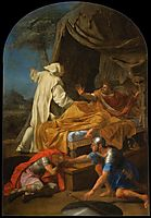 St. Bruno Appearing to Comte Roger, 1648, sueur