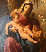 The Virgin and Child with Saint John the Baptist, sueur