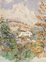 Alupka. Ai-Petri., 1915, surikov