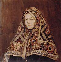 Anfisa, c.1905, surikov