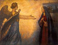 Annunciation, 1914, surikov