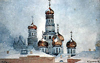 Belfry Ivan the Great, 1876, surikov