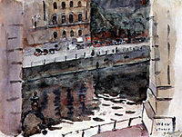 Berlin. Enbankment., surikov