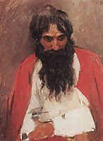 Blackbearded old man, 1879, surikov