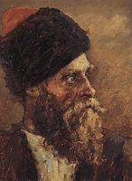 Cossack Dmitry Sokol, 1893, surikov