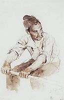 Cossack-rower, 1892, surikov