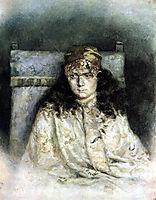 Female portrait, 1885, surikov