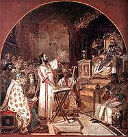 First Ecumenical Council of Nicaea, 1876, surikov