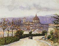 Florence. Walk., 1884, surikov