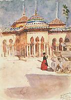 Granada. Alhambra., 1910, surikov