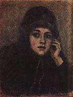 The head of nun, surikov
