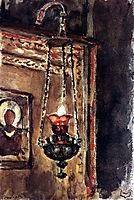 Icon-lamp, c.1881, surikov